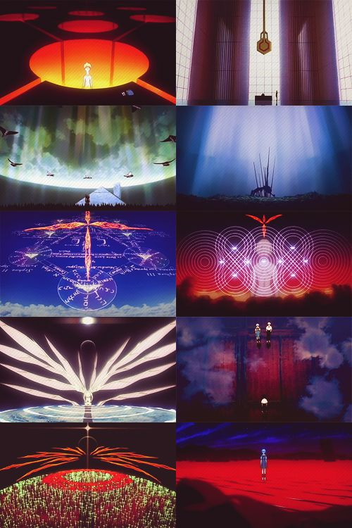 """""""The fate of destruction is also the joy of rebirth."""" The End of Evangelion"""