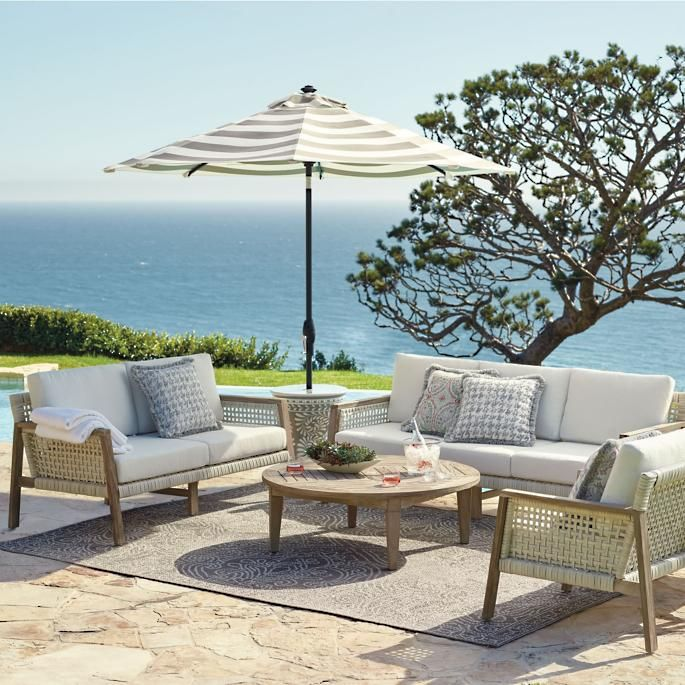 Callan Seating Tropical Outdoor Furniture Best Outdoor