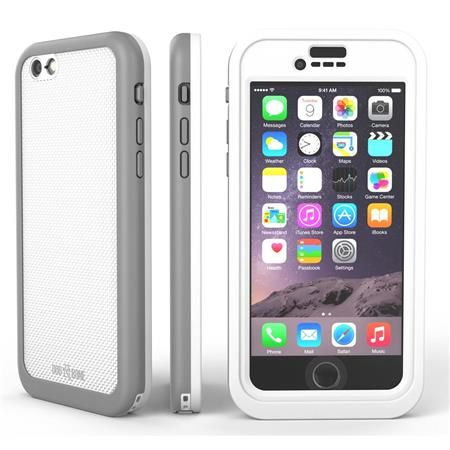 Image of Wetsuit Impact Waterproof Rugged Case for iPhone 6S Plus/6 Plus, Silvertail