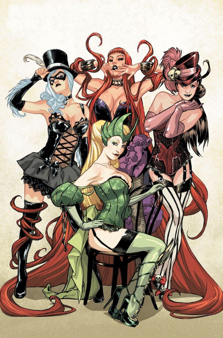 The Top 5 Females in Marvel Comics?