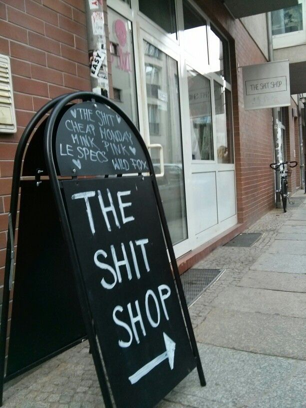 The Shit Shop, Berlin Mitte