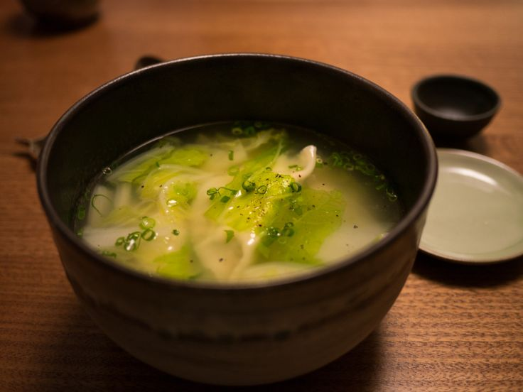 Since moving to Japan, this has become my go-to soup for when I am feeling a little under the weather. It is chicken (as comfort soup for all sick people seems to be), warming and the dumplings add a twist on a familiar theme. Plus, these dumplings can be made ahead of time in bulk, frozen, and pulled out when one needs a quick and restorative meal.
