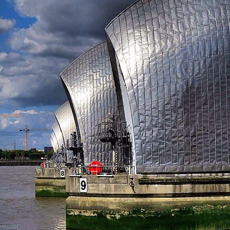 Thames Barrier _ London