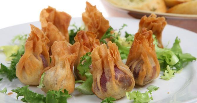 Recette de Aumônières légères pomme, mozzarella et jambon sec. Facile et rapide à réaliser, goûteuse et diététique.