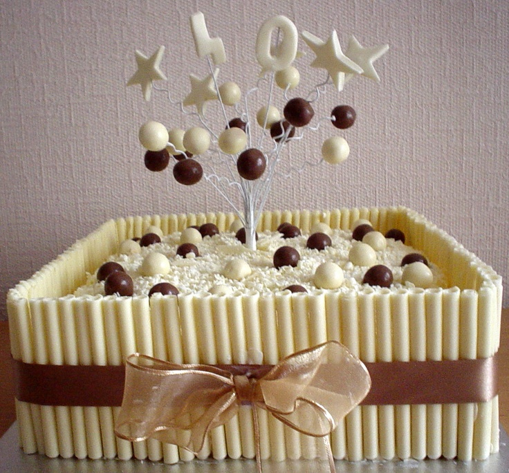 13 best White Chocolate Cake images on Pinterest Petit fours