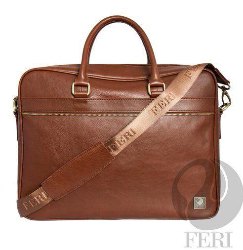 Brown genuine #leather #briefcase C$1,609 http://bit.ly/1SL570G