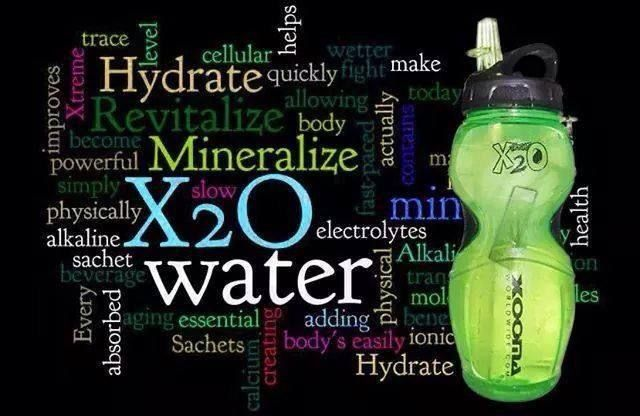 Hydrate with Mineral Rich Alkaline Water with #Xooma's X2O at http://www.BuyX2O.com #alkalinewater #hydrate #drinkmineralrichwater