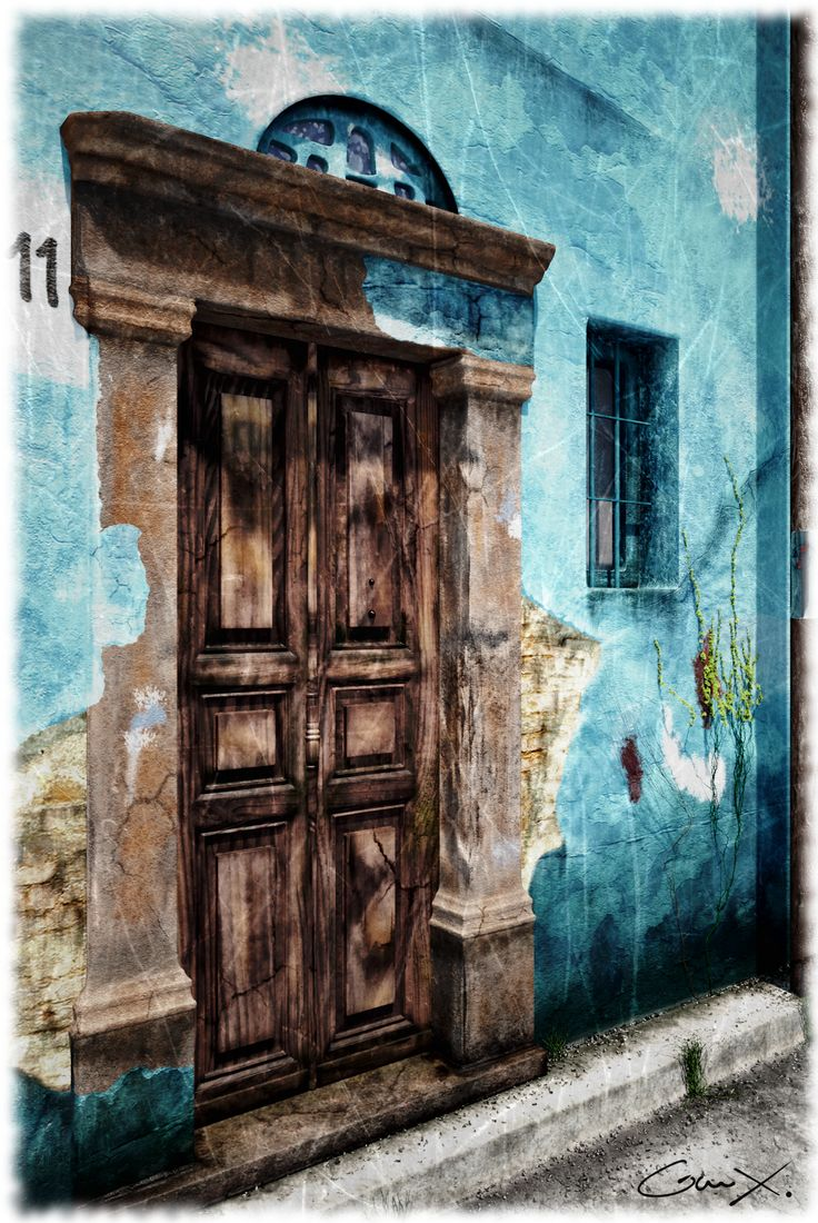 GreekX CG Freelancer: Exterior Old door