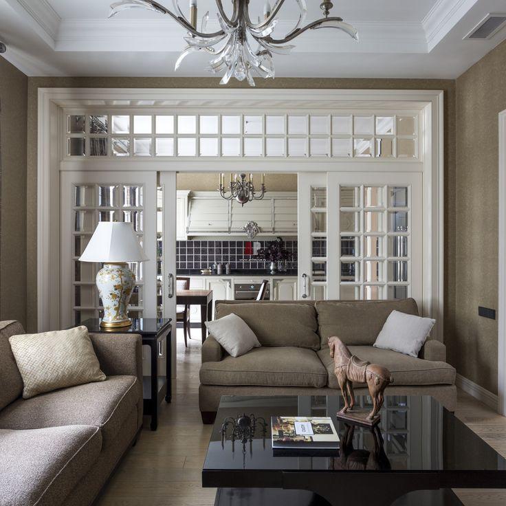 Квартира с американской мебелью и теплой колористикой