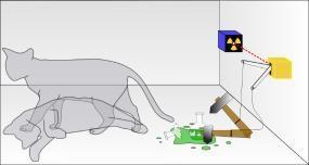 Paradoxo do Gato de Schrödinger - Texto sobre o experimento mental denominado Gato de Schrödinger