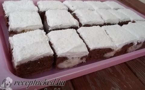 Kókuszos-foltos kocka (bögrés) recept fotóval