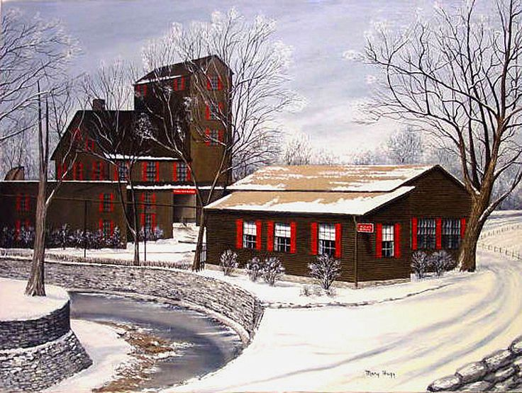 Maker's Mark Distillery, Loretto, Kentucky. My mom's home town. She has this picture framed in her house