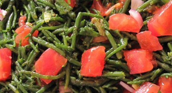 Soslu Deniz Börülcesi Salatası Tarifi   Yemek Tarifleri