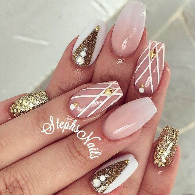 480 best Uñas Ballerina images on Pinterest | Cute nails, Nail ...