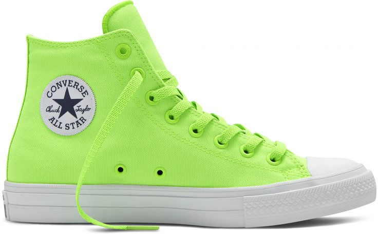 Converse Chuck Taylor II Hi Top Green Gecko/Navy/White http://www.95gallery.com/