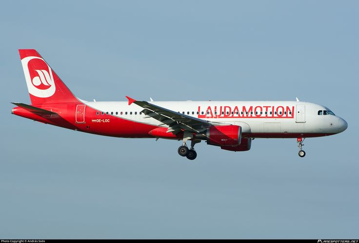 OE-LOC LaudaMotion Airbus A320-214