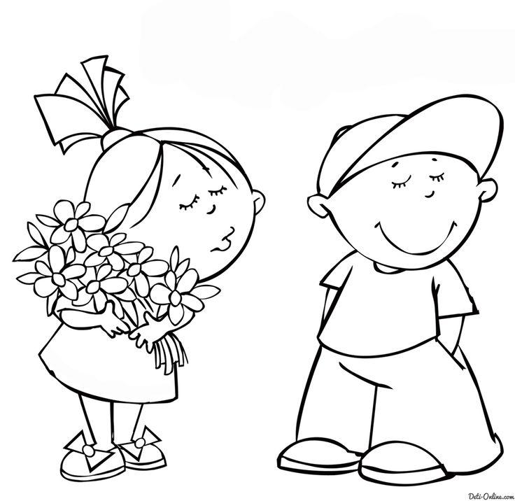 валентинки РАСКРАСКИ - Поиск в Google | Рисунки для ...
