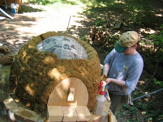 How To Build A Homemade Earth Oven Project