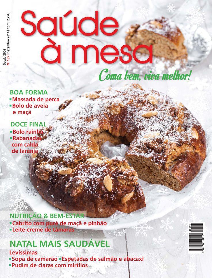 Saúde à Mesa 105 - Dezembro 2014   www.teleculinaria.pt