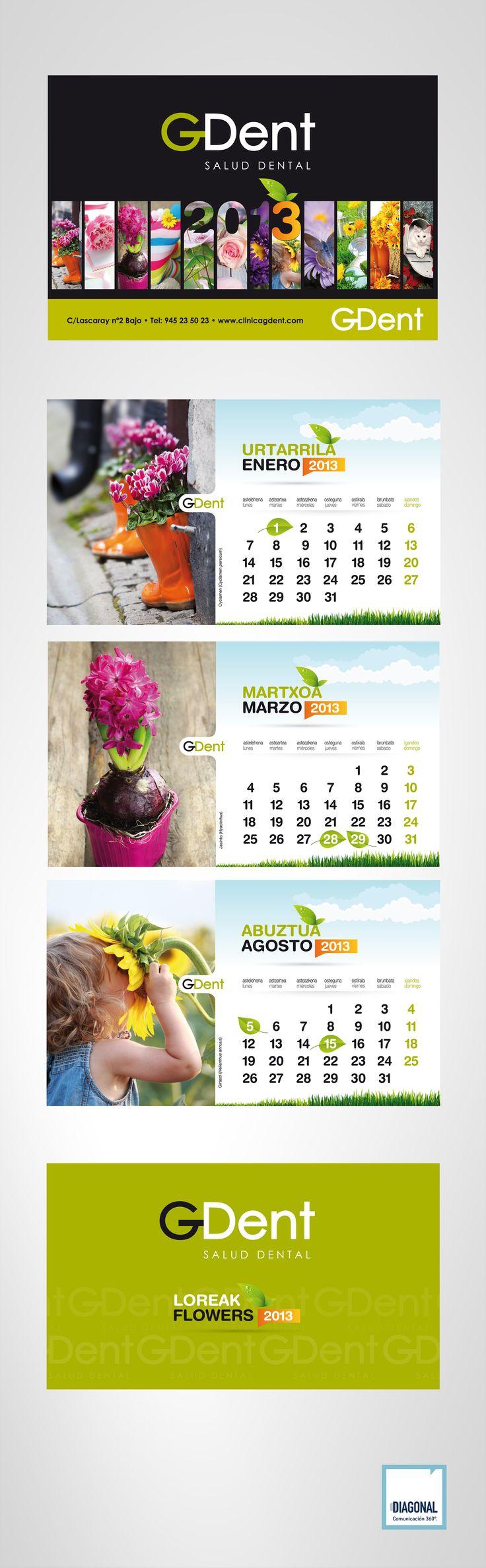 SALUD DENTAL GDent Calendario de mesa