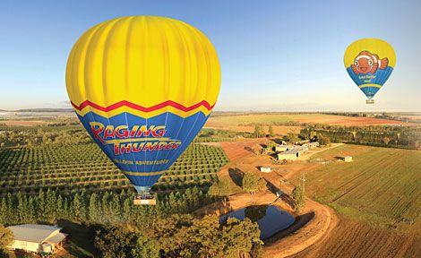 Raging Thunder Ballooning from $235 Call Us 1300 731 620 or visit http://www.fnqapartments.com/tour-raging-thunder-ballooning/area-cairns/ #cairnstour