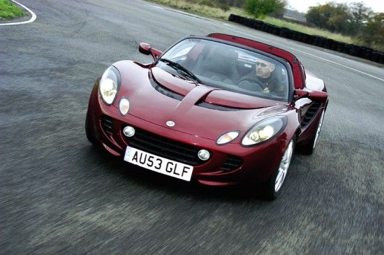 Lotus Elise - I'll take one of these for Christmas, please.  I mean, come on, it has my name on it! :)