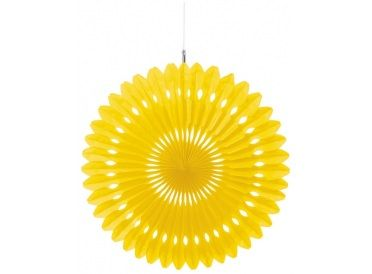 Yellow Fan Decoration | Whish.ca