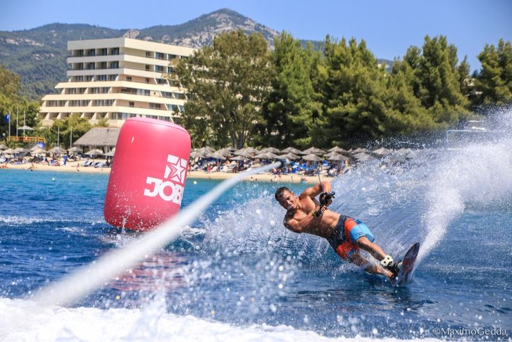 Halkidiki's sea provides unique conditions which makes the ideal place for watersports!  #SummerisComing... #booknow: http://portocarrasmeliton.reserve-online.net/  #PortoCarras #Halkidiki #Sithonia #watersports #waterski #sea #nature #Greece #visitgreece #visithalkidiki #santinxalkidikidenexei #havefun