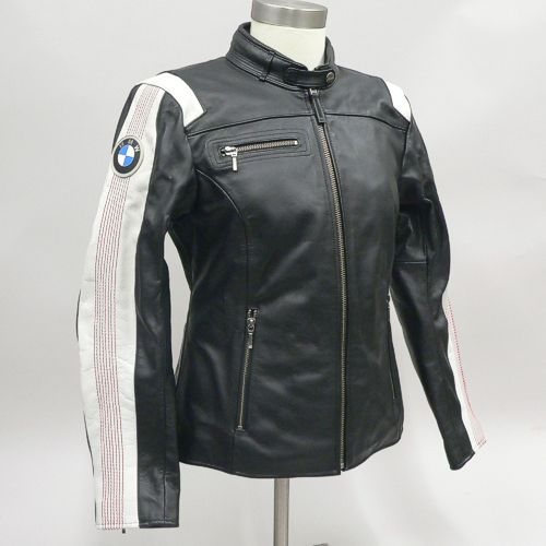 Bmw Men S Club Leather Motorcycle Jacket