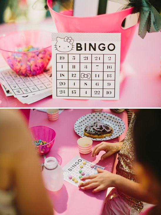 hello kitty birthday party ideas | Hailey's Hello Kitty Themed Birthday Party - On to Baby