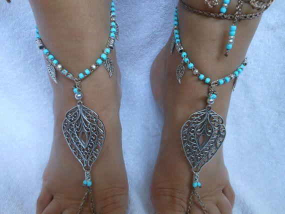 Uncinetto a piedi nudi sandali spiaggia Yoga scarpe piedi