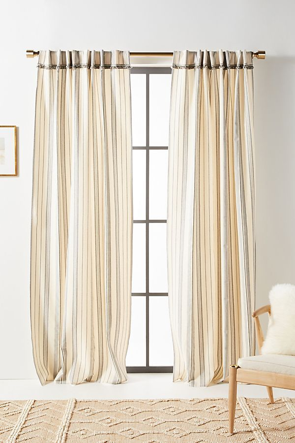 Fatima Curtains Set Of 2 In 2020 With Images Curtains Living