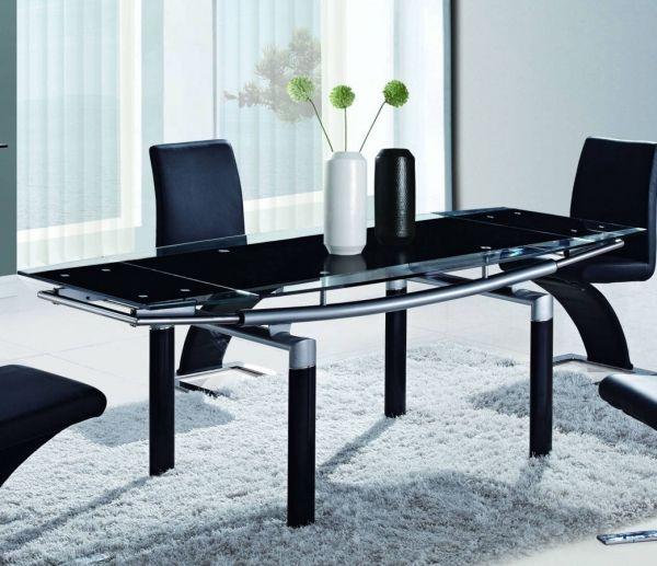 ... Black Glass Tables