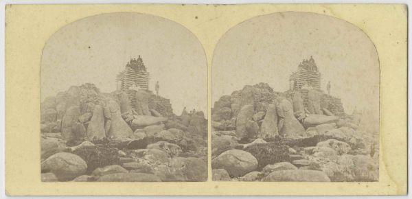 Thomas Nevin on Mount Wellington 1860s – Tasmanian photographer   Thomas J. Nevin (1842-1923)