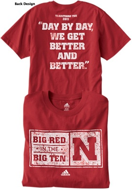 Ordered the 2011 Traditions tee too!