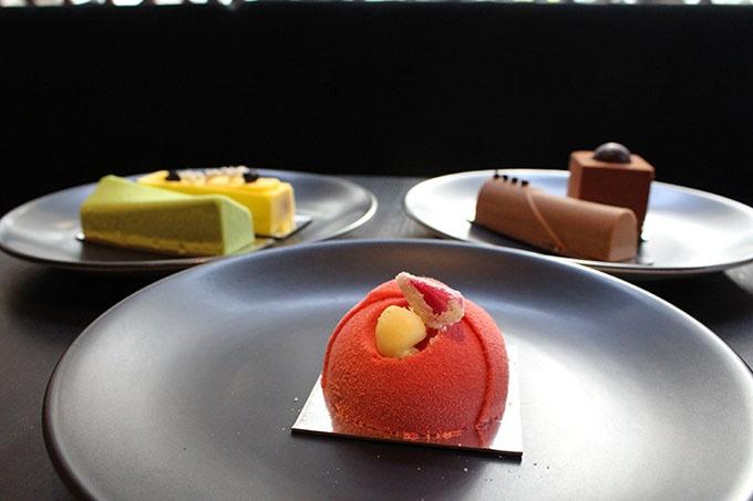 Gateaux: Raspberry, Rose, Chocolate & Vanilla