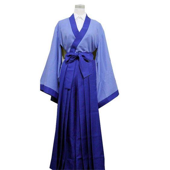 Vicwin-One Rurouni Kenshin Seta Soujirou Cosplay Costume ** Read more  at the image link.