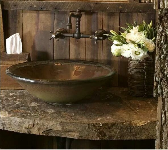 Best 20 Rustic bathroom sinks ideas on Pinterest