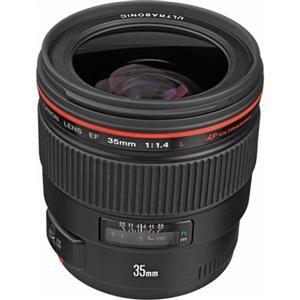 BEST WIDE ANGLE LENS: Canon EF 35mm f/1.4L USM