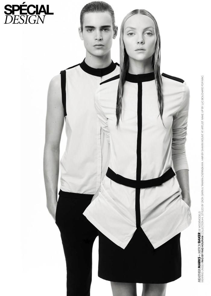 Rad Hourani for Dress to Kill Magazine (Dress To Kill Magazine)