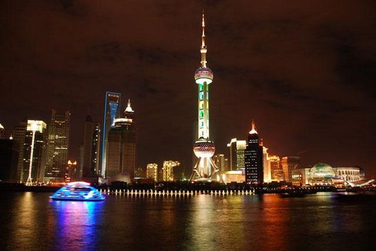 Chiny - Szanghaj nocą