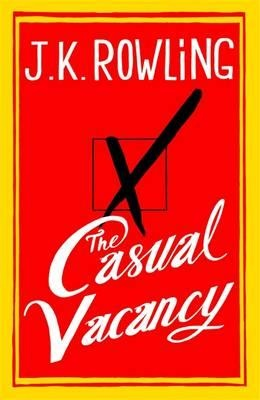 A big novel about a small town, The Casual Vacancy is J.K. Rowling's first novel for adults. It is the work of a storyteller like no other.