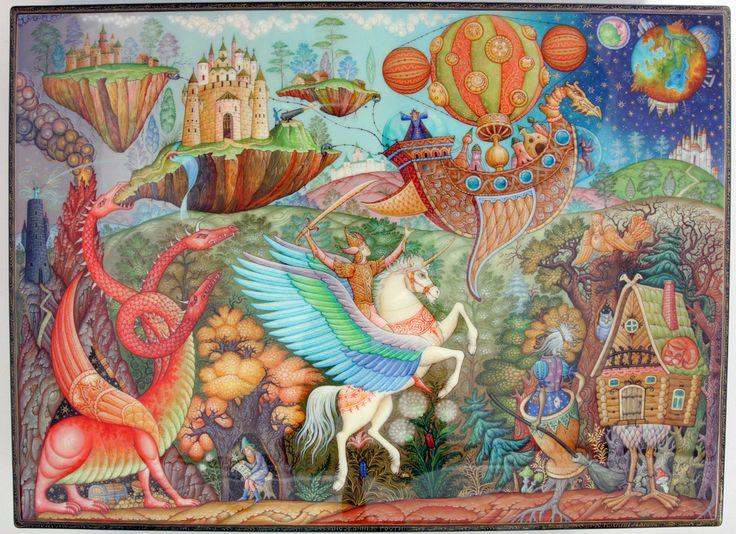 "Sunbirds.com: Mstera Titled ""Interlopers"" Artist Molodkin Daniil"