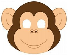 Printable Monkey Mask