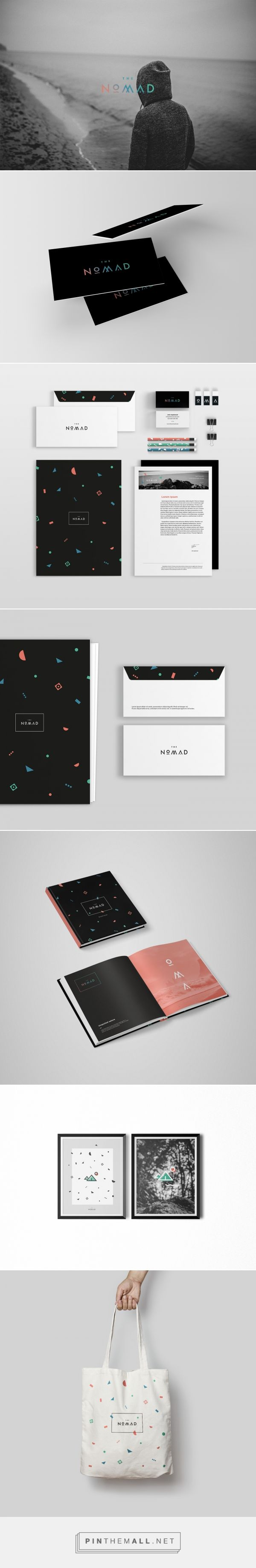 The Nomad | Branding on Behance  | Fivestar Branding – Design and Branding Agency & Inspiration Gallery