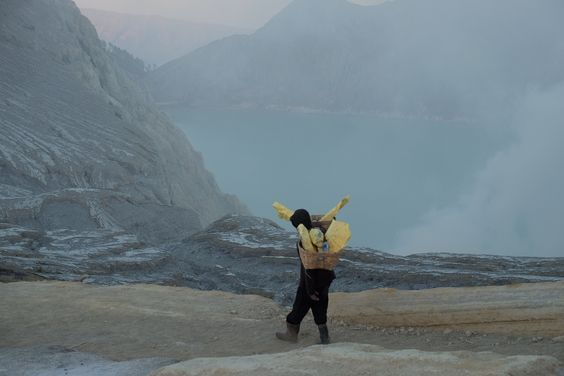 Kawah Ijen Banyuwangi Indonesia: