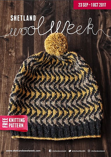 Bousta Beanie by Gudrun Johnston - free with inscription