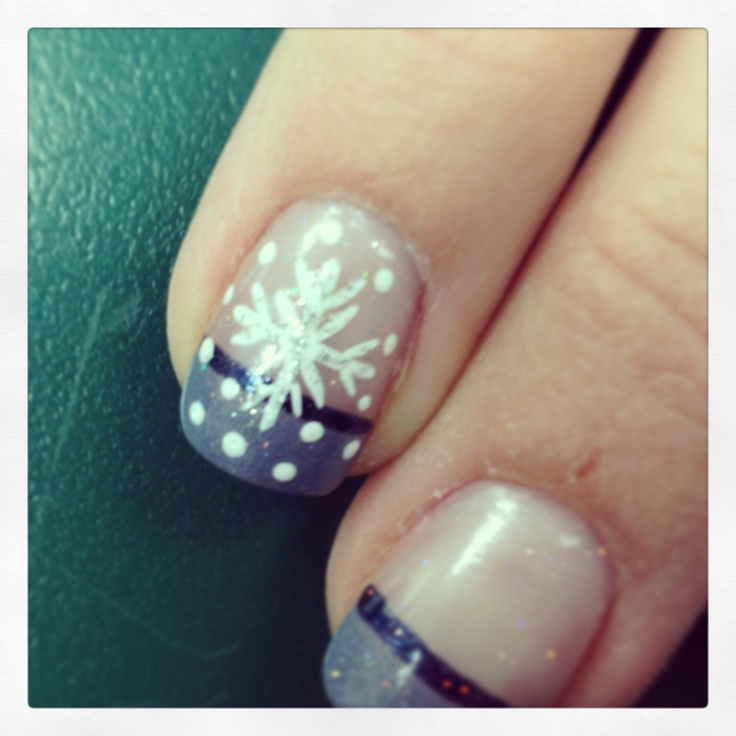 36 best images about nail art on pinterest nail art april snow snowflake nail art winter nail art prinsesfo Image collections