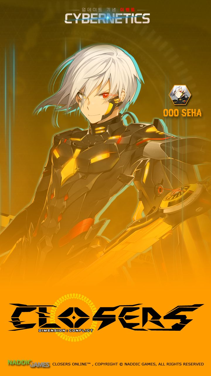 000 Seha Cybernetics Phone Wallpaper [A] Resolution 720 x 1280