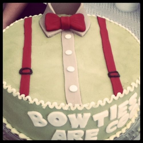 Next year, I want a Doctor Who birthday cake!
